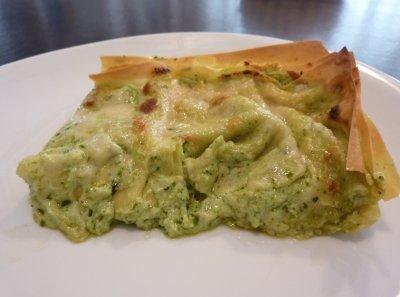 lasagne al forno alla ligure