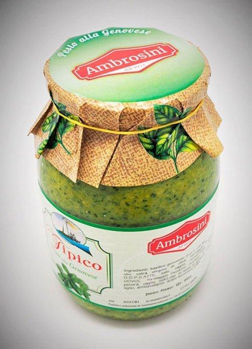 Pesto tipico Gastronomia Ambrosini
